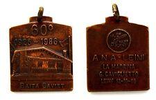 Medaglia Associazione Nazionale Alpini Sez. Di Leinì La Madrina G. Caviglietto L