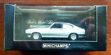 Minichamps Ford Capri MK3 1979 Silver . Sehr Selten