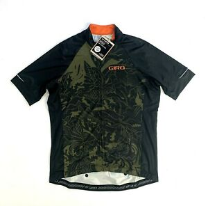 Giro Chrono Expert Jersey Men's XL Olive Floral New with Tags
