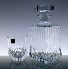 RCR Whisky-Set 6 Whiskygläser + Karaffe aus italienische Cristallin Kristallglas