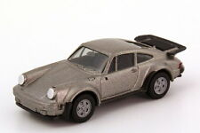 1:87 Porsche 911 turbo Type 930 silver gray grey metallic - herpa 3060/030601
