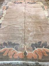 Retro Art Deco Modern Nepalese Size:370x270  Cm RUG CARPET Handmade Wool