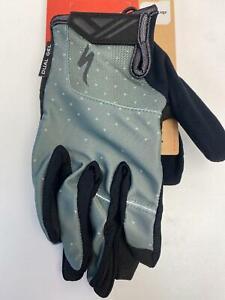 new Specialized Body Geometry BG DUAL GEL mens GLOVES Long Finger SAGE