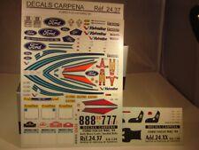 DECALS 1/24 FORD FOCUS WRC 1999 RALLYE MONTE-CARLO / SUEDE - COLORADO  2437