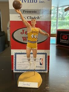 JERRY WEST SALVINO SIGNED LA LAKERS AUTOGRAPHED RARE ONLY 700 MADE RARE