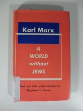 A world without Jews, K. Marx, D.D. Runes, Philosophical Library, 1959