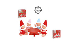 CHRISTMAS BABY PARTY TABLE SET ELF Elves Toy Stocking Filler Gift 500006 UK