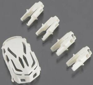 Estes 4620 Body & Motor Holder Set White For Proto X R/C Nano Quadcopter
