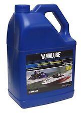 Yamalube 10W-40 4W Watercraft 4-Stroke Engine Motor Oil OEM Yamaha 2 Gallons