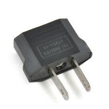 European American USA EU To US Travel Adapter Jack Converter Plug Charger