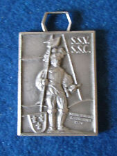 Vintage Swiss Military Shooting Medal - Hallebardier 1520 - P.Kramer Neuchatel