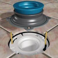 Home Bathroom Floor Plumbing Repair Parts Toilet Flange Wax Ring Kit w/ Bolts