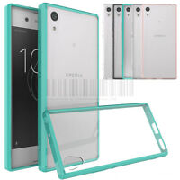 Slim Hybrid Clear TPU Case Shockproof Bumper Cover For Sony Xperia XA1 / Ultra