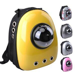Pet Carrier Backpacks Travel Outdoor Space Oxford Breathable HandBag for Dog Cat