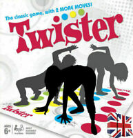 The Classic Game Funny Twister 2+ players With 2 More Moves Toy Body Party Games