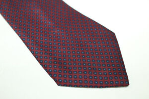 HOLLIDAY BROWN Silk tie Made in England F6604 man