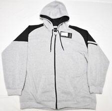 $54 NWT Mens Akademiks Allen Moto Fleece Hoodie Sweatshirt Grey 5XL 5XB 5X N631