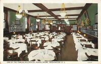 Postcard Hotel Occidental Dining Room Washington DC