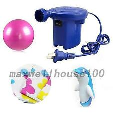 Electric Air Pump Inflate Deflate For Mattress Boat Compression Bag US Plug New