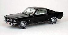 1965 Mustang 2+2 Fastback BLACK 1:18 Ertl American Muscle 39300