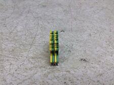Phoenix Contact Uslkg 2,5N Green Yellow Wire Terminal Uslkg 2.5N Lot of 2