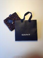 Gant Schal Tuch Scarf Seide Silk Marineblau Navy Paisley new