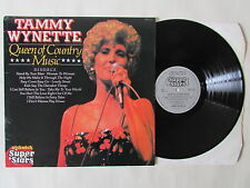 TAMMY WYNETTE QUEEN OF COUNTRY MUSIC LP, 1980 PICKWICK SUPER STARS SSP 3073