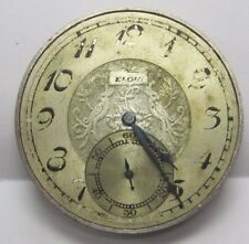 Antique Elgin Pocket Watch Movement 39.5mm in size. #33853573