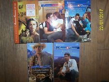 Lot 5 Harlequin American Romance Soft Books By Some of the Best Romance Authors