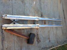 SUZUKI PE 250 (1980) FORKS 36mm . (WRECKING BIKE)
