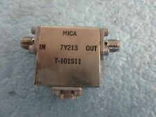 Mica Model: 7Y213 Microwave Isolator.  Unused Old Stock.  No Box   <