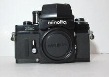 RARE MINOLTA XK BLACK 35 mm FILM SLR CAMERA BODY ONLY AS IS