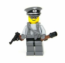 custom German WW2 wehrmacht Officer field gear made with real LEGO® minifigure