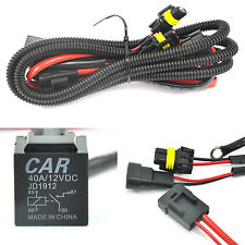 Universal relay wiring harness for all HID single kit H1 H3 H4 H7 H8 H9 H10 H11