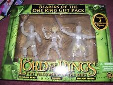 Lord of the Rings Action Figures Set Twilight Frodo Bilbo Gollum Hobbit Toybiz
