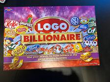 El logotipo multimillonario juego de mesa-RISK Juego de marca del negocio