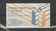 Suède, Sverige, Carnet de timbres neuf MNH, bien