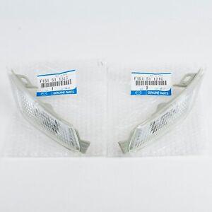 Genuine OEM Mazda RX8 Front Clear Side Marker Lense SET L&R, F151-51-121C, 131C
