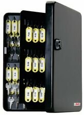 New listing KeyGuard Combination Key Cabinet with Black 3-Dial Combi-Cam - 122 Hook Conve.