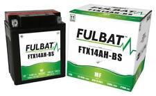 ARTIC CAT Cat 500, AGM, MF Fulbat Batterie FTX14AH-BS DIN81401