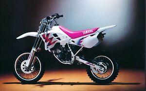 1993 YAMAHA YZ80 REAR Stainless Braided Brake LINE MX  YZ 80 1988 1990 race