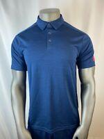 Adidas Mens Polo T-Shirt - [White / Red / Blue]