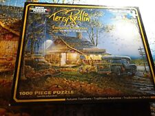 White Mountain Terry Redlin Collection Autumn Traditions 1000 Piece Puzzle