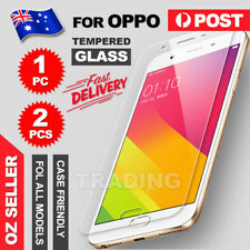 2x For Oppo A57 A73 A77 F1S |R9S | R9 Plus| R11 Tempered Glass Screen Protector