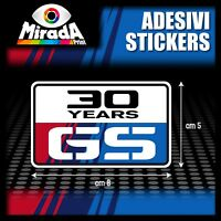 Adesivi Stickers Pegatina Autocollant BMW R 1200 GS 30 YEARS ANNIVERSARY MERIT