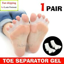 Silicone Gel Bunion Corrector Toe Separator Spreader Pain Orthotics Straightener