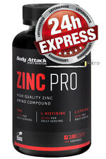 Body Attack ZINC Professional 180 Capsule Zinco Pro Caps SPEDIZIONE EXPRESS 24h