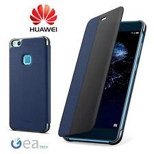 Custodia Originale Per Huawei P10 LITE Smart Cover View BLU Flip Case Ultra Slim
