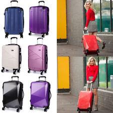 24 '' Medium Trolley Suitcase Spinner Travel Case Hard Shell Luggage Lightweight