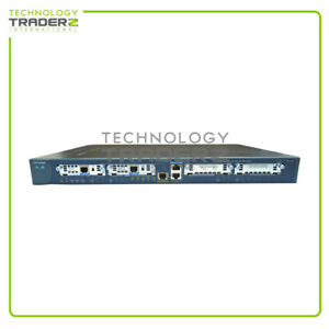 CISCO 1760 Modular Access Router w/ 2x 73-2850-05 * Pulled *